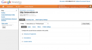 Google Analytics Nouvelle Gestion