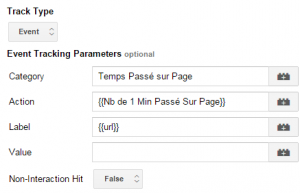 Google Tag Manager Event Tracking Tag for Timer Listener